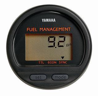 new yamaha fuel management digital outboard gauge ebay